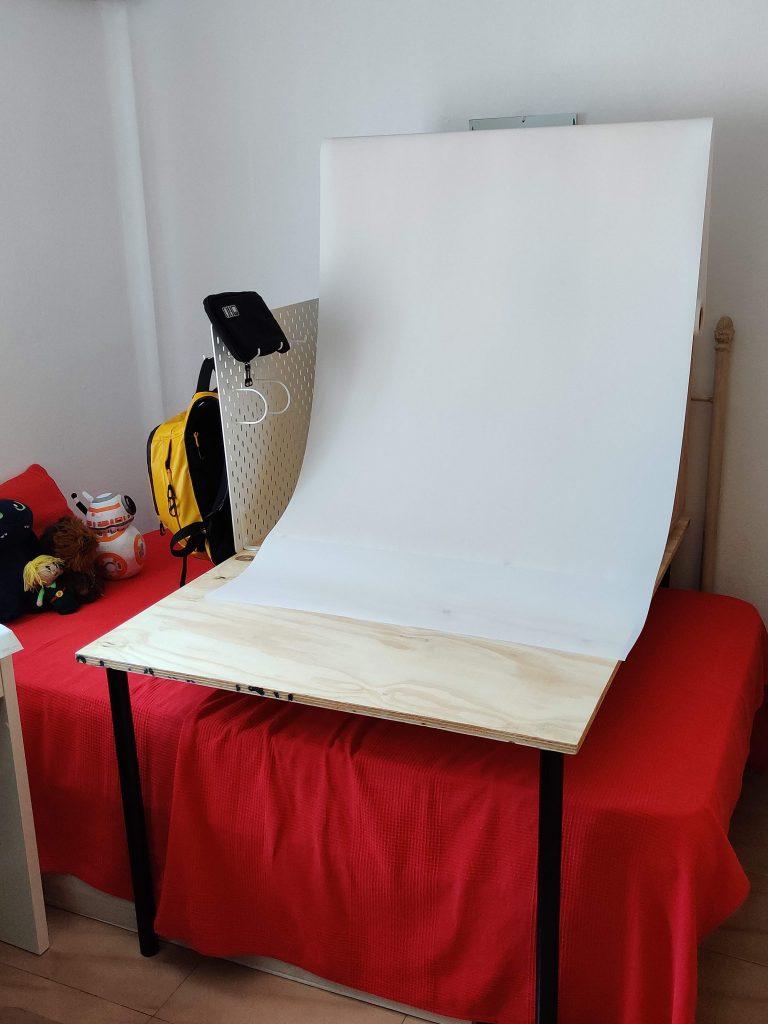 Estudio de fotografía vacío